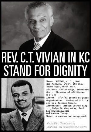 C.T. Vivian in Kansas City